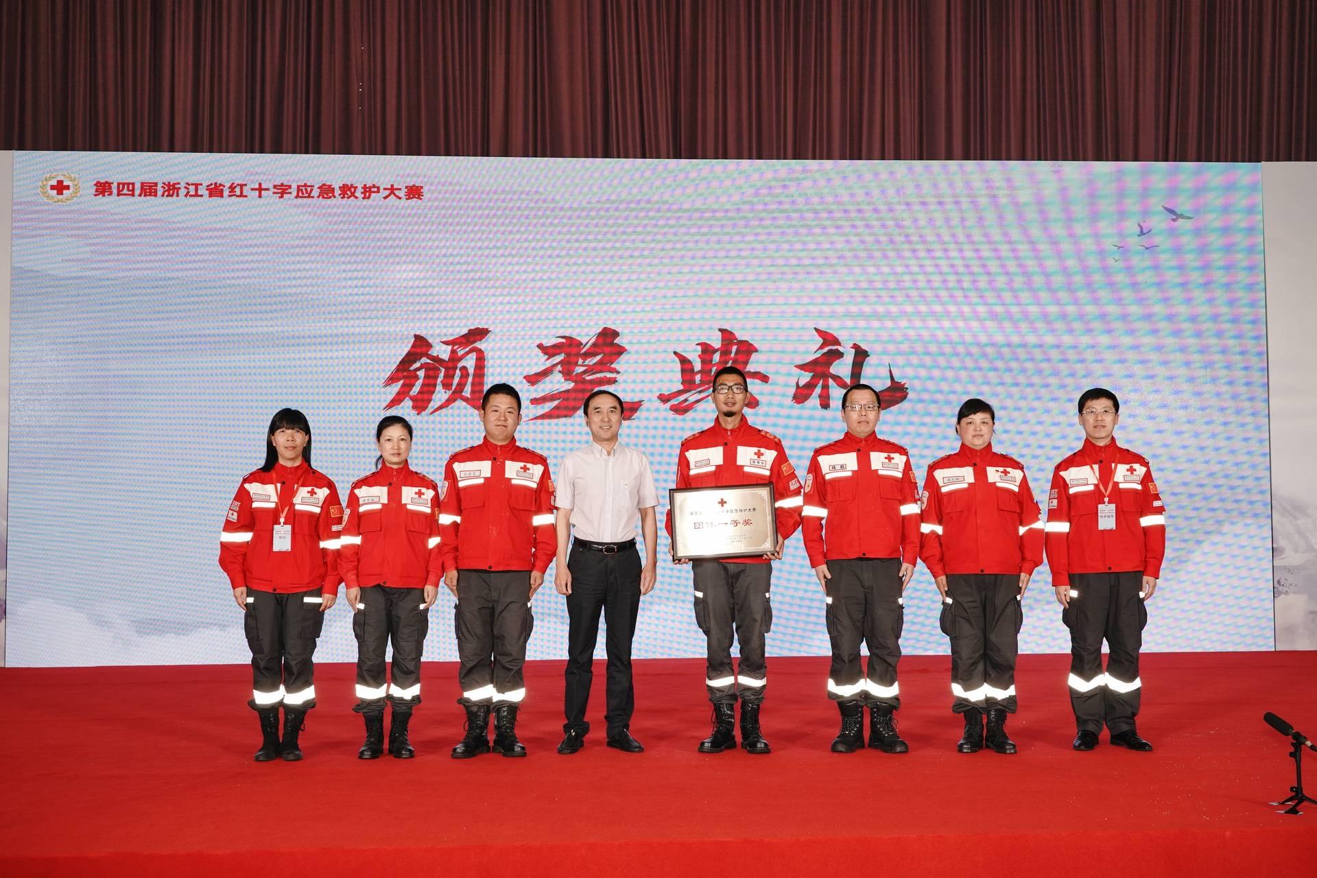喜报!绍兴市红十字会在全省红十字应急救护大赛中获团体第一